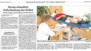 WaDiTに関するドイツの新聞記事