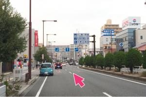 1号線桑名駅前